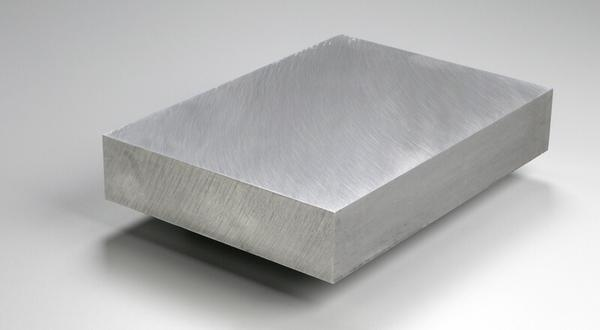 Aluminum plate stock cut to size