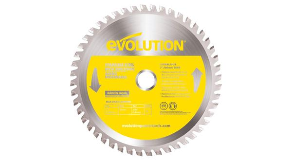 Evolution 7 Inch Stainless Replacement Circular Saw Blade at Coremark Metals