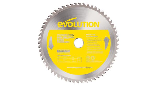 Evolution 9 Inch Stainless Replacement Circular Saw Blade at Coremark Metals