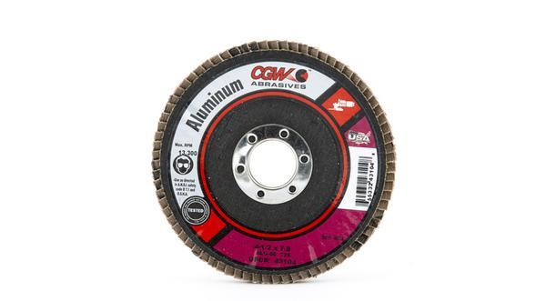 Camel Grinding Wheels Aluminum Flap Discs - 7/8 Inch Arbor at Coremark Metals