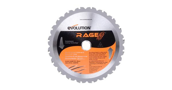 Evolution 7-1/4 Inch Multipurpose Replacement Circular Saw Blade at Coremark Metals