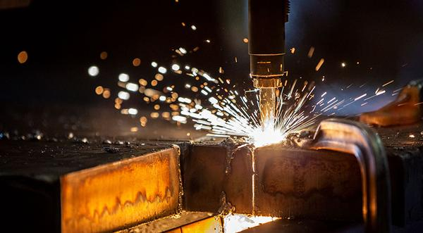 Coremark Metals offers steel plate flame cutting services. Steel plate cut to custom sizes.
