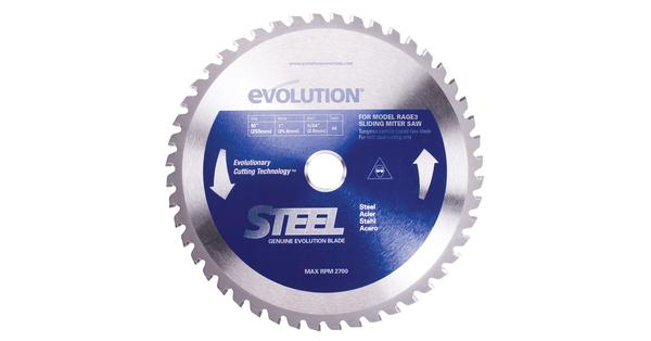 Evolution 10 Inch Steel Replacement Circular Saw Blade at Coremark Metals