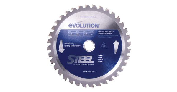 Evolution 7-1/4 Inch Steel Replacement Circular Saw Blade at Coremark Metals